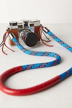 Stylin' camera strap.