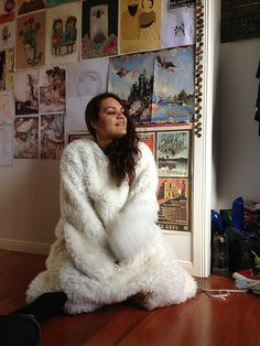 Nina Bear | Nina in a Polar Bear costume | kurtvandenberg | Flickr