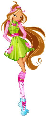 Winx club Flora outfit