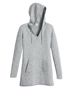 Zenergy Krista Jacquard Lurex Animal Tunic
