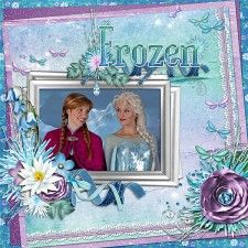 Frozen scrapbook layout 3web.jpg