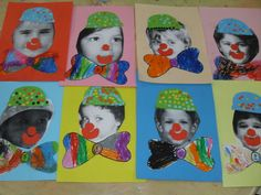SDC17022 Carnival Crafts, Toddler Classroom, Fall Preschool, Toddler Art, Circus Theme, Mardi Gras, Diy For Kids, Activities For Kids, Techno