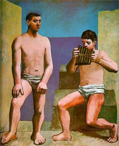 Pablo Picasso - The Pan Pipes, 1923