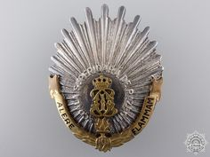 A First War Romanian Regimental Badge Badge, Military, Decorations, Home, Dekoration, Ornaments, Badges, Decor, Decoration
