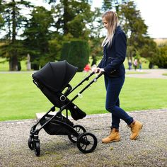 Infababy FLO i-Size Travel System - Midnight Travel System, My Size, 4 Years, Cosy, Convertible, Baby Strollers, Birth, Car Seats, Wheels