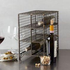 On my Christmas Wishlist.  love this little wine rack on sale this weekend.