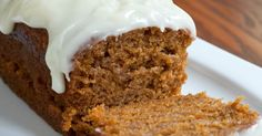 Our Favorite Frosted Pumpkin Bread