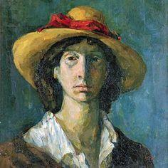 femmes artistes peintres women artists painters : 1914 Cuca Sokic Ljubica