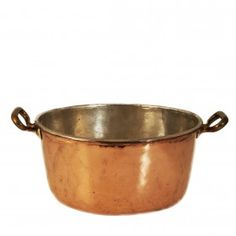 Copper open pot, French, 19th century (III.248)