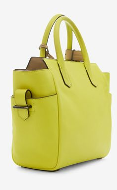 Reed Krakoff Yellow Handbag | VAUNTE