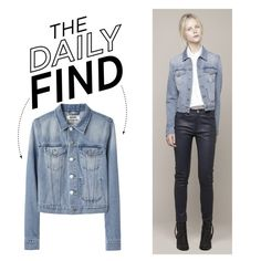 The Daily Find: ACNE Denim Jacket