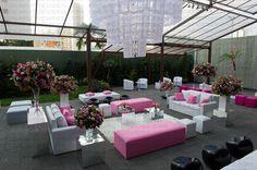 #traffo #festa #decoracao #debutantes #pink