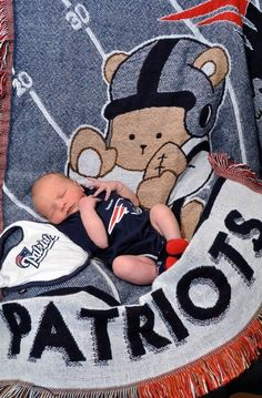 #patriots. My babies are going to have so much patriots stuff...now this is more my style