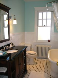 Our recently remodeled guest bathroom