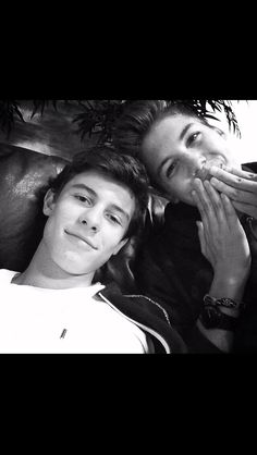 Shawn Mendes and Matt Espinosa