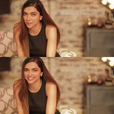 {NEW} Deepika for All About Deepika❤ Question: Mumbai or Bangalore? Her Answer: India I Love Her Answer Perfectly Said (@deepikapadukone, #DeepikaPadukone, #AllAboutYou, #AllAboutDeepika, #200KPlease, #GainFollowers)