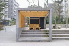 Bild Pavillon aus Holz