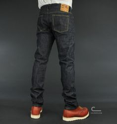 21f7f5b541f4c Naked And Famous x Oni Weird Guy Jeans