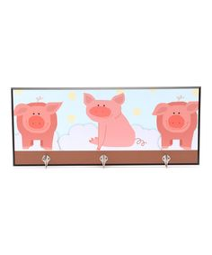 Take a look at this Baby Pigs Decorative Wall Hanger by Green Leaf Art on #zulily today!