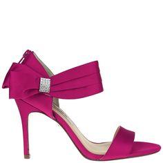 Nina COSMOS ROYAL SILVER LUSTER SATIN by Nina Shoes