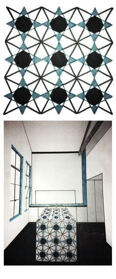Manninger Zsuzsa, minta a térben / Manninger Zsuzsa, pattern in space