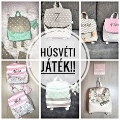 Kids backpack, toddler backpack, girls backpack, boys backpack, unicorn backpack, stars backpack, fox backpack