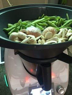 CLASE DE COCINA A TODO VAPOR Green Beans, Chips, Food And Drink, Cooking Recipes, Vegetables, Washi Tape, Foods, Recipes, Arrows