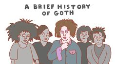 A Brief History of Goth. post-punk gothicrock tradgoth 80's goth