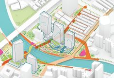 Sasaki was selected as the winning team for the international competition to redesign Suzhou Creek in Shanghai, China. Suzhou Creek (also known as the Urban Design Diagram, Urban Design Plan, Parque Linear, Win Competitions, Urban Analysis, Site Analysis, Concept Diagram, Suzhou, Landscape Architecture