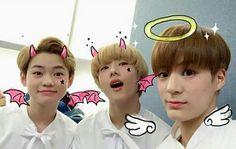 Chenle, Jisung and Jeno