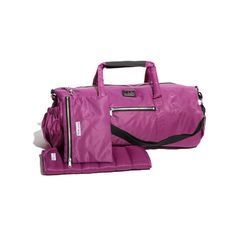 $78 Polochon Diaper Bag Grape: We all love the long, round shape of the timeless piece, it gives a more casual look with a touch of sophistication, far from the usual diaper bag.