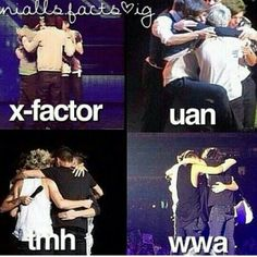 X Factor / UAN/ TMH/ WWA/ ONE DIRECTION
