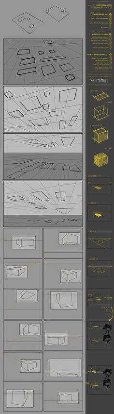 CW07 Basic Perspective practice by JustIRaziel on deviantART