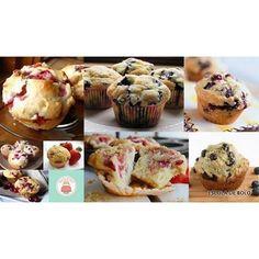 Sabe qual a diferença entre muffin e cupcake?? Na escoladebolo.com.br você aprende a diferença e a receita deste clássico inglês!! #aquivoceaprende #aprendaonline #auladebolo #muffins