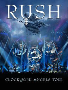 Rush 'Clockwork Angels Tour' coming November 19th
