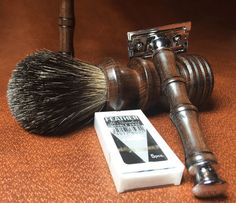 Custom Shaving Sets by Every Knight Forge   #EveryKnightForge #MensGifts…