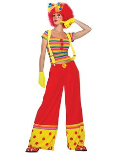 Moppie The Clown Costume   Clown Costumes