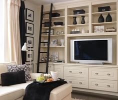 Tv Great Room Wall Units Design, Pictures, Remodel, Decor and Ideas