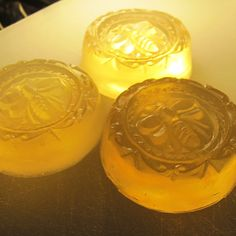 3 Guest Gift Favor Soaps  All Natural Honey Soap by by LeesBeesNJ, $6.00