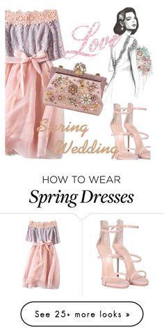 """Spring Wedding"" by metisu-fashion on Polyvore featuring Giuseppe Zanotti and Dolce&Gabbana"