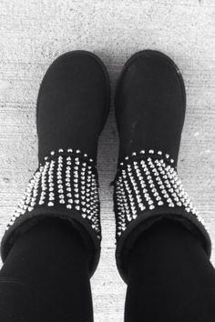 Haute ugg boots with studs <3 #ugg #boots www.loveitsomuch.com