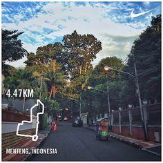 #nikeplus #nike #running #myrun #instarunners #instarunner #afternoonrun #afternoon #menteng #jakarta #indonesia #greenjakarta #larisore #lari