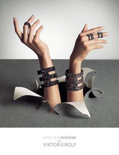 Atelier Swarovski by Viktor & Rolf Jewelry Advertising