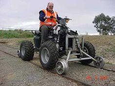 Tranzrail ATV Hi-Rail