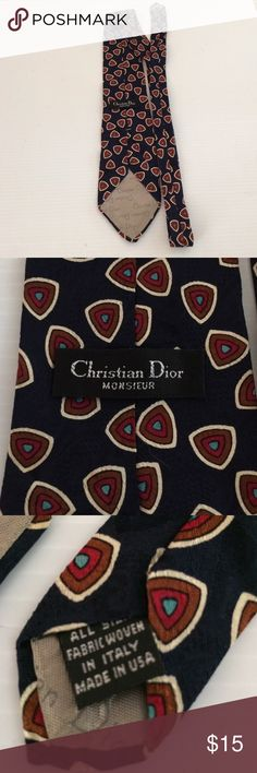 Christian Dior Silk Tie Preowned Christian Dior men Tie all silk 57 inches long and 4 inches wide Christian Dior Accessories Ties
