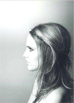 Anna Calvi. Photography by Karl Lagerfeld