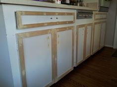 EB Loves Old Houses   How to Add Trim to Old Cabinets