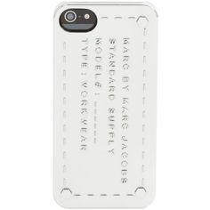 Marc by Marc Jacobs Standard Supply Iphone 5 Case ($38) ❤ liked on Polyvore featuring accessories, tech accessories, phone cases, fillers, phones, electronics and marc by marc jacobs