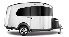 Airstream Basecamp ... Lightweight and towable with an SUV. Comfortably seats five and sleeps two. Just as comfortable in the campsite as it is off the beaten path. The new Basecamp packs everything you need into one versatile trailer that's ready for anything this wide world has to offer.