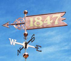 Banner Weathervane by West Coast Weather Vanes